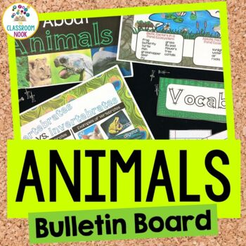 Animals & Ecosystems Bulletin Board Set