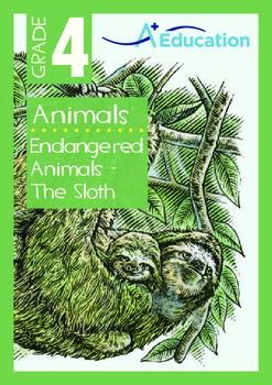 Animals - Endangered Animals (II): The Sloth - Grade 4