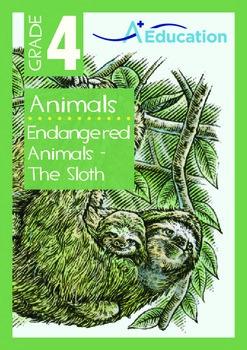 Animals - Endangered Animals (II): The Sloth - Grade 4