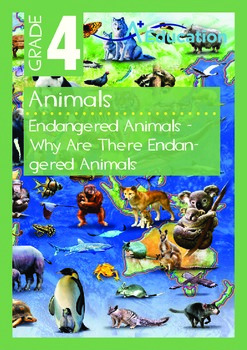 Animals - Endangered Animals (III): Why Are There Endangered Animals - Grade 4