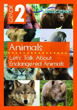 Animals - Endangered Animals (I): Let's Talk About Endangered Animals - Grade 2