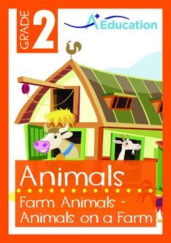 Animals - Farm Animals: Animals on a Farm - Grade 2