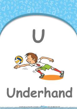 Animals - Feeding Animals : Letter U : Underhand - Nursery (2 years old)