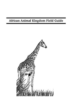 Animals Field Guide Booklet