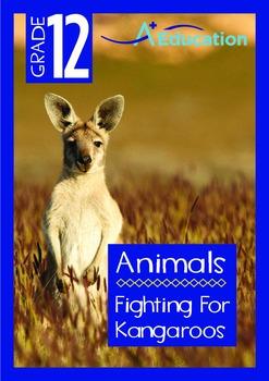 Animals - Fighting For  Kangaroos - Grade 12