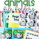 Animals File Folders for Special Education