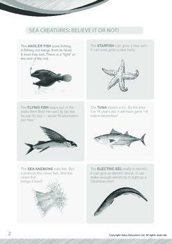 Animals - Fish (II): Sea Creatures Believe It Or Not - Grade 4