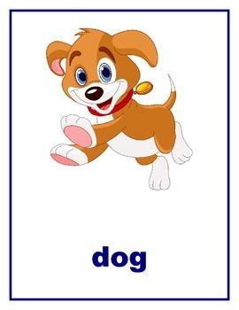 Animal Flashcards 33 Words