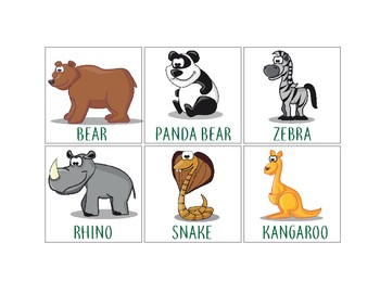 Animals: Flashcards