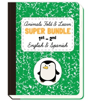 Animals Fold & Learn SUPER BUNDLE