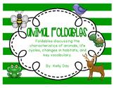 Animals Foldables