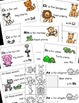 Animals From A to Z Alphabet Emergent Reader and Cut and P