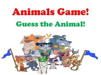 Animals Game