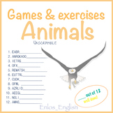 Animals - Games and Exercises