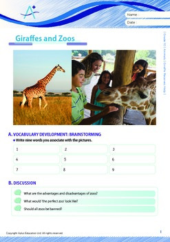 Animals - Giraffe Receives Help - Grade 10