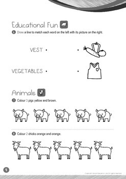 Animals - Goat, Pig (II): Letter V - K1 (3 years old)