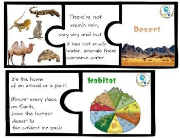 Animals Habitat Puzzle