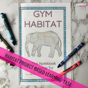 {Non-Editable} Animal Habitats Project Based Learning Task