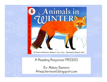 Animals In Winter - FREEBIE