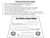 Animals In Winter Science Project: Lesson Plan, Presentation, and Template