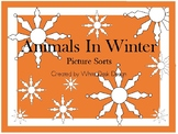 Animals In Winter {Sorting Activity & Writing Response}
