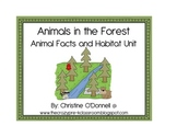 Animals In the Forest: facts, minibook, craftivity, centers+