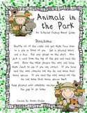 Animals In the Park - An Inflected Ending Board Game