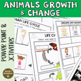 Animals Growth and Change