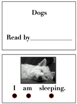 Animals Interactive Emergent Books-Dogs Chicks & Pigs Emergent Reader Books