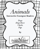 Animals Interactive Emergent Books-Dogs Chicks & Pigs Emer