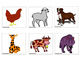Animals-Interactive Flash Cards-Spanish