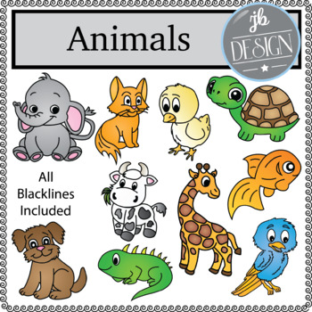 Animals (JB Design Clip Art for Personal or Commercial Use)