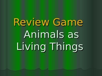 Animals Jeopardy Game