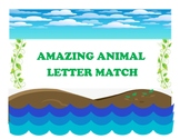 Animals Letters Matching