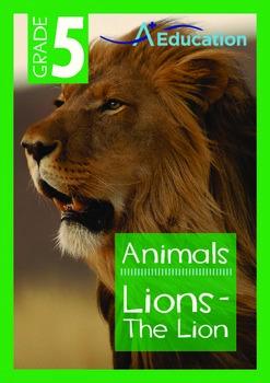Animals - Lions: The Lion - Grade 5