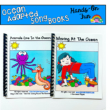 "Ocean Adapted Song Book--""Animals Live In the Ocean"""