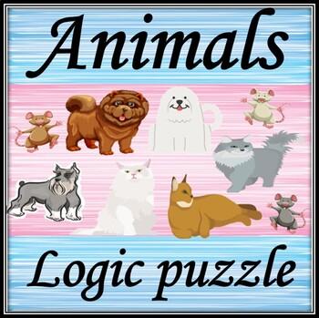 Animals. Logic puzzle.