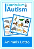 Animals Lotto Turn Taking Game Autism Social Skills