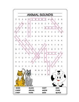 Animals Make Sounds Puzzles ★ FREEBIE ★