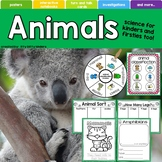 Animals, Mammals, Amphibians, Reptiles, Insects, Birds, Fish, Classifications