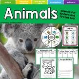 Animals, Mammals, Amphibians, Reptiles, Insects, Birds, Fish, Classifications