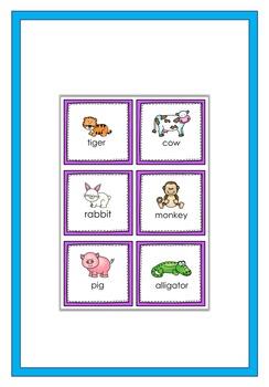 Animals Memory Game