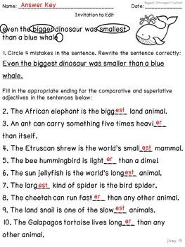 Animals Mentor Sentences & Interactive Activities Mini-Unit (3-5)