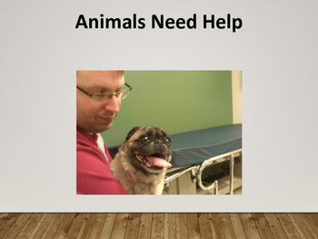 Animals Need Help beginning text reader