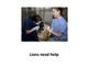 Animals Need Help beginning text reader