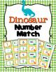 Animals Numbers 1-10 Match Activity Bundle Set 2