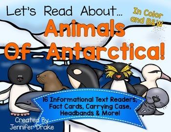 Animals Of Antarctica Readers Pack