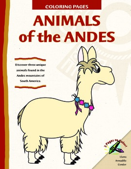 Animals Of The Andes Coloring Pages