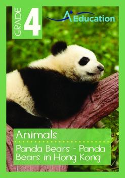 Animals - Panda Bears: Panda Bears in Hong Kong - Grade 4