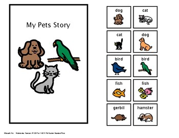 Animals--Pets Adapted Book